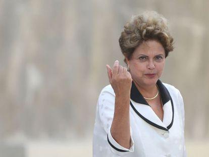 Dilma, no dia 1 de março no Rio.