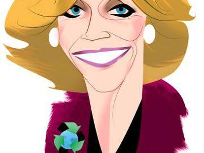 Jane Fonda, atriz de punho erguido