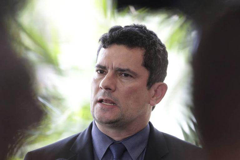 O ex-ministro da Justiça Sergio Moro, em julho de 2019.