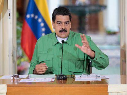 Maduro nesta quinta-feira