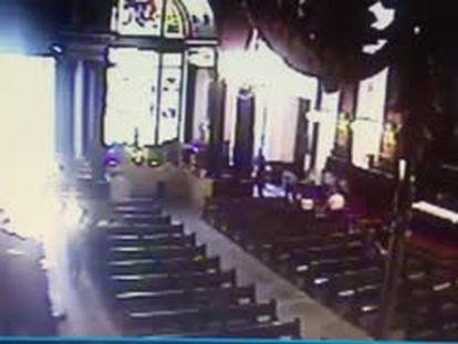 Vídeo mostra o momento em que homem começa a atirar em Campinas.