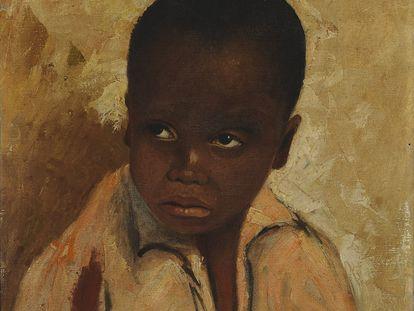 Pintura O Menino deArthur Timótheo da Costa