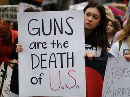 Alunos de Parkland querem fazer história em Washington em sua cruzada contra as armas