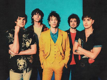 Os integrantes da banda The Strokes, numa imagem promocional de 'The New Abnormal'.