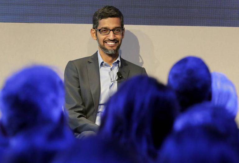 Sundar Pichai, CEO do Google, nesta semana em Davos.