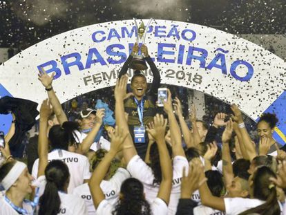 Corinthians foi a equipe campeã brasileira em 2018.