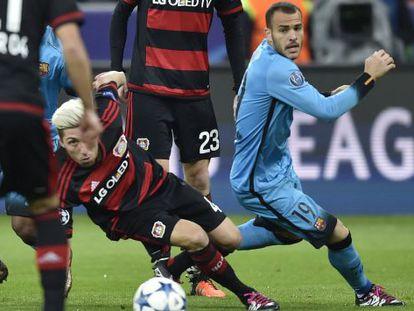 Leverkusen x Barcelona pela Champions