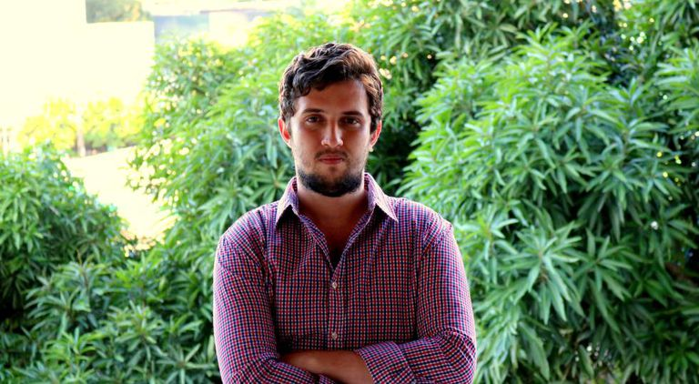O jornalista Luiz Felipe Campos.