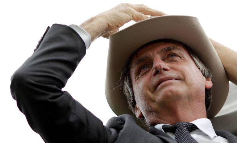 Jair Bolsonaro, no dia 04 de abril.