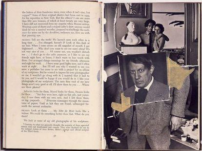 'Colagem' realizada por Dalí em 1966 em homenagem a Picasso.