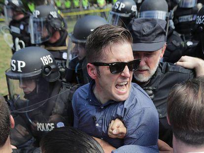 Supremacista branco, Richard Spencer no protesto neonazista de Charlottesville