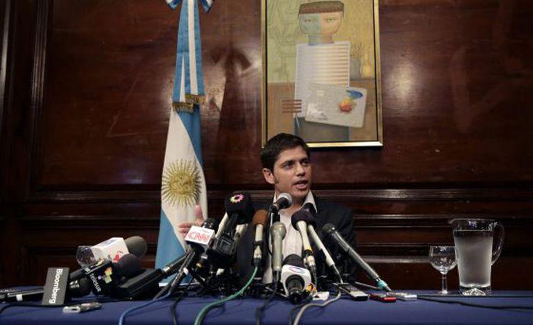 O ministro da Economia argentino, Axel Kicillof.