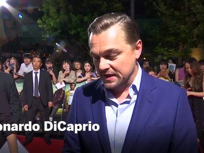 Leonardo DiCaprio, em junho passado, em Los Angeles. / Vídeo: Declarações do ator.