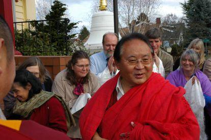 Sogyal Rinpoche em Seattle (EUA) em 2011.