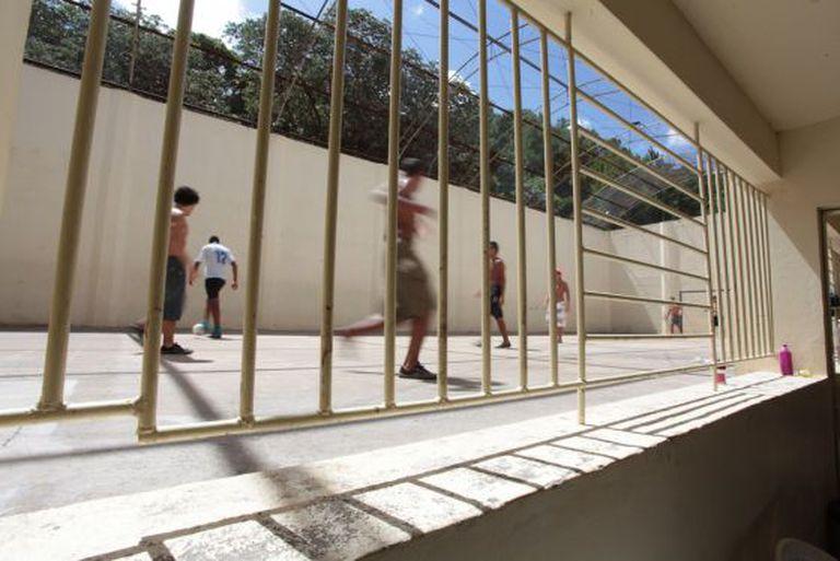 Uma unidade de internação em Porto Alegre.