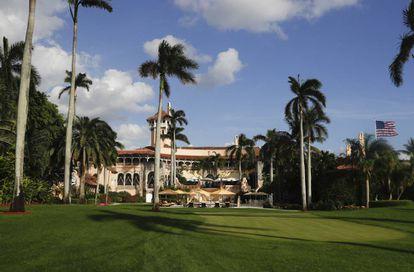 "A residência Mar-a-Lago, na Flórida: a ""Casa Branca de Inverno"" de Trump."