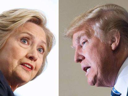 Clinton e Trump são os favoritos nas primárias de Nova York.