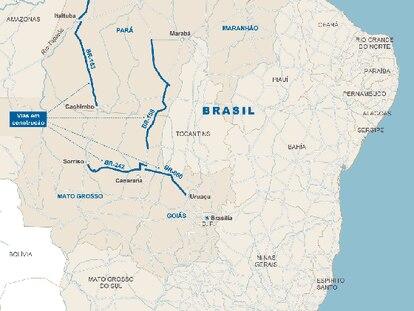 Sete obras desatam ou nó que estrangula a economia brasileira