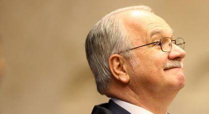 O ministro Edson Fachin, que retirou o sigilo das conversas.