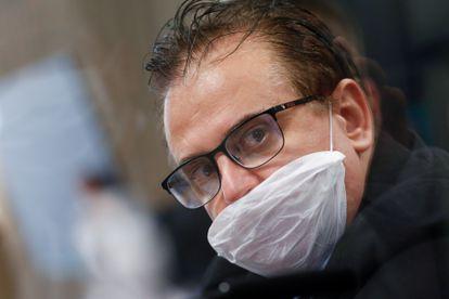Cristiano Carvalho, representante da Davati Medical Supply no Brasil, durante depoimento à CPI da Pandemia.