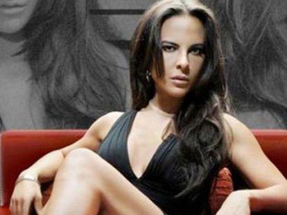 Kate del Catillo em um fotograma da novela 'A Rainha do Tráfico'.