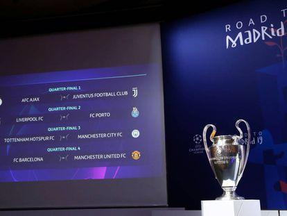 A taça será entregue em Madri, no dia 1 de junho.