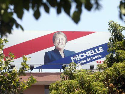 Michelle Bachelet é a grande favorita.