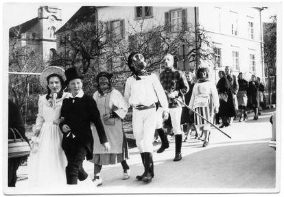 Carnaval de loucos em Münsterlingen.