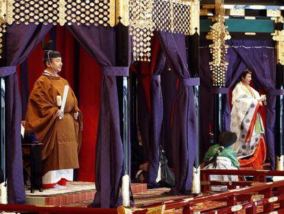 Japão exibe sua tradição ao fazer de Naruhito seu novo imperador