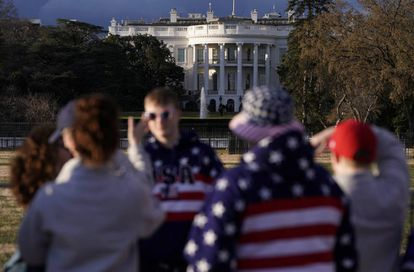 A Casa Branca, sexta-feira passada.