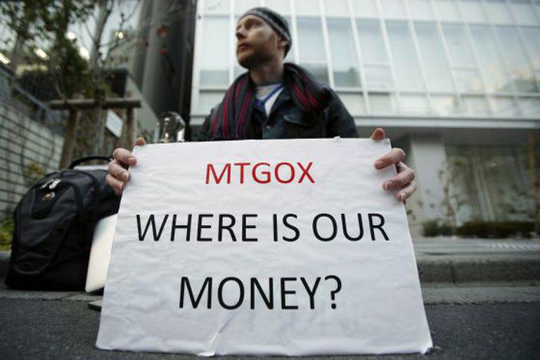 Kolin Burges está há uma semana na sede da Mt. Gox, em Tóquio, exigindo a recuperação do dinheiro que depositou na plataforma.