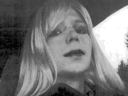 A soldado Chelsea Manning.