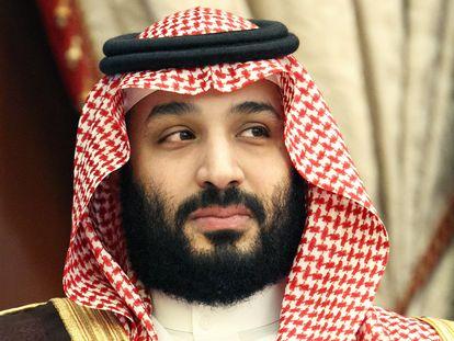 O príncipe saudita Mohammed Bin Salman.
