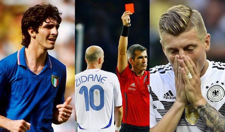 Paolo Rossi, Zidane e Toni Kroos: carrascos do Brasil em Copas.