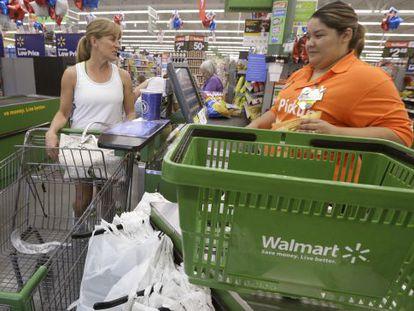 Loja do Walmart em Bentonville, Arkansas.