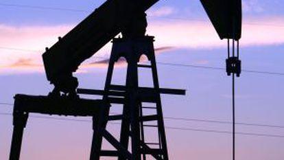 Campo de petróleo em Daqing.