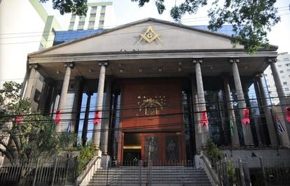 Sede da Grande Loja Maçônica do Estado de São Paulo.