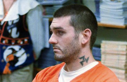 Daniel Lewis Lee, executado nesta terça-feira por um triplo assassinato, durante uma audiência em Arkansas, em 1997.