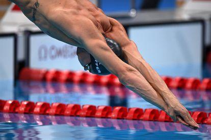 O nadador brasileiro Fernando Scheffer compete nesta segunda-feira, 26 julho, nos Jogos Olímpicos de Tóquio.