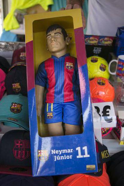 Boneco de Neymar