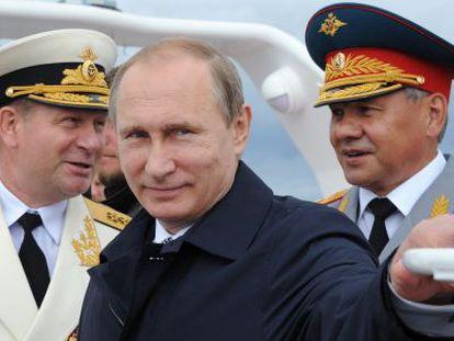 Vladímir Putin em Kaliningrado.