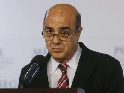 O procurador-geral do México, Jesús Murillo Karam.