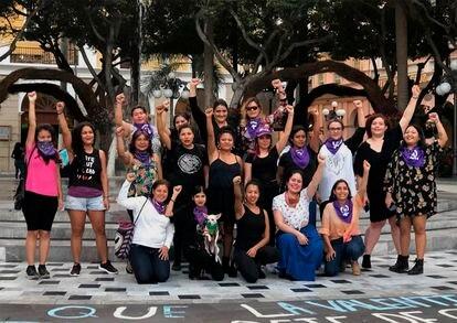 O coletivo feminista As Bruxas do Mar, em Veracruz.