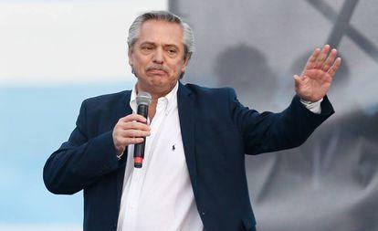 O presidente eleito da Argentina, Alberto Fernández, em uma imagem de arquivo.