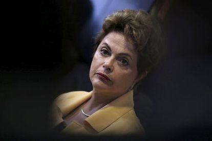 A presidenta Dilma.