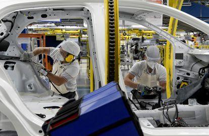 Fábrica da Fiat, em Betim (MG). Veículos são principal produto de exportação do Brasil para países do Mercosul.