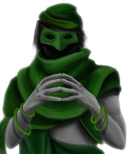 """O Reddit oferece imagens como a desse membro do """"Conselho esmeralda"""" para que seus usuários as usem."""