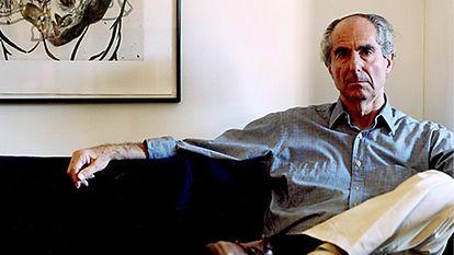 O escritor Philip Roth.