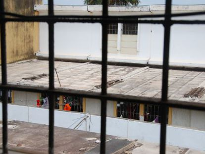 O presídio de Pedrinhas, no Maranhão, que recebe constantes denúncias de tortura.