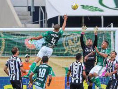 Na 36ª rodada, o Palmeiras venceu o Botafogo por 1 a 0.